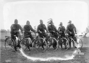 Anzac Corps Cyclist Battalions in 1916-17